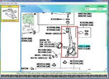 Genuine Lexus LX570 Land Cruiser 16-20 Steering Knuckle Spindle RH 43211-60230