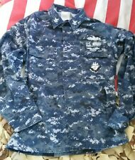 US Navy USN Army AOR NWU Digital Pattern Blouson Working Veste SL Small long