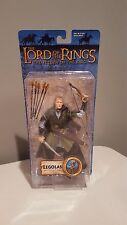 ToyBiz Lord Of The Rings Legolas With Rohan Armor Action Figure LOTR ROTK
