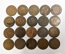 Twenty Mixed King George V AUSTRALIA PENNY Coin Collection Lot (#L9391)