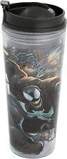 Vandor Marvel Venom 16 oz. Acrylic Travel Black Tumbler Cup Brand New