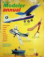 Vtg American Modeler Magazine Annual 1961 Edition Complete Data m162