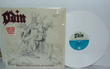 ODIN Don't Take No For An Answer 1985 White Vinyl Glam Insert Ltd Ed PLAYS WELL
