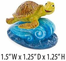 Finding Nemo Mini Aquarium Ornament - Crush - 1.5 in. - NMR42 - Penn Plax