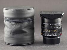 Leica M 28mm 1.4 ASPH. Summilux 6bit schwarz 11668 FOTO-GÖRLITZ Ankauf+Verkauf