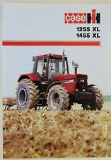 prospectus brochure tracteur CASE IH 1255 XL 1455 XL  tractor traktor prospekt