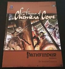 Pathfinder Module LB2 TREASURE OF CHIMERA COVE Paizo PZO9514 D&D 3.5 OGL D20 NEW