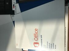 Microsoft Office 2013 Professional 32/64-bit DVD and Key NEW SEALED!