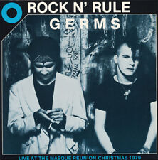 Germs - Rock N' Rule Vinyl LP Mint Hardcore / Punk