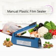 Hand Impulse Sealer Heat Sealing Machine Poly Plastic Bag Film 220V EU Plug F8S6
