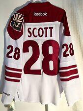 Reebok Premier NHL Jersey Arizona Coyotes John Scott White sz S
