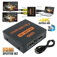 1080P 3D 1 IN 2 4K HDCP Stripper 1 × 2 HDMI Splitter Switcher Für HDTV SKY HD