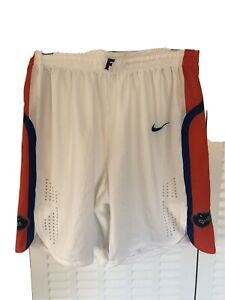 Nike Flordia Gators Basketball Shorts Men's Large White