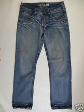 Trend Jeans TOM TAILOR TEDDY relaxed button Fly 50 ca 34 L34 denim blue used/F46