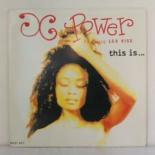 "X-Power Featuring Lea Kiss ‎– This Is... (Vinyl, 12"", Maxi 45 Tours)"