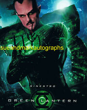 Mark Strong Sinestro Green Lantern Signed Photo  Autograph UACC RD 96