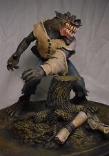 Monster Squad Style Werewolf Statue w Professional Build & Paint Rare