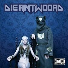 DIE ANTWOORD $O$ CD PA RAP HIP HOP DANCE DUBSTEP EDM RAVE 2010 INTERSCOPE NINJA