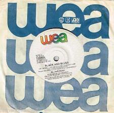 """AL JARREAU - BLACK AND BLUES - 7"""" 45 VINYL RECORD - 1983"""