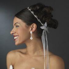 Silver Traditional Orthodox Greek Stefana Wedding Headpiece Crowns (2)