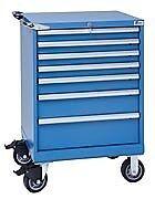 LISTA XSST0750-0701M - ST750 7-Drawer Mobile Storage Cabinet