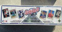 1991 Upper Deck Baseball Cards Factory Set  SEALED 800 Baseball CHIPPER JONES RC
