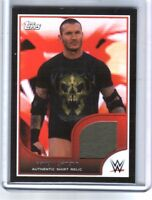 WWE Randy Orton 2016 Topps RTWM Event Used Shirt Relic Card SN 61 of 350