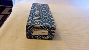 HO Scale Märklin #36010, Box of 10 Straight Track, Vintage Blue Box