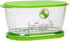 4.7 qt Keeper Fruits & Vegetables Keeper Crisper Lettuce Salad Saver Convenient