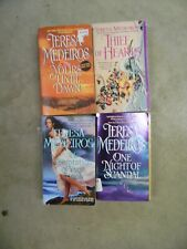 Lot of 4 Teresa Medeiros Historical Romance Paperback Books