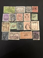 India States Used Stamps- Lot A-66577