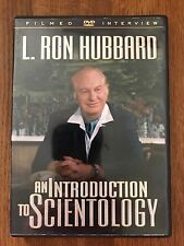 SCIENTOLOGY DVD FILMED INTERVIEW L RON HUBBARD AN INTRODUCTION TO Scientology