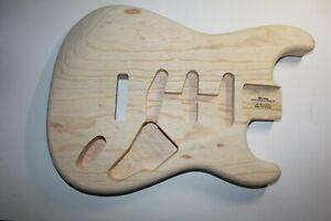 TMG Strat Body Korpus US Swamp Ash Sumpfesche Gitarrenbau Stratocaster
