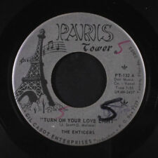 ENTICERS: Turn On Your Lovelight / What's Easy For Two Is Hard For One 45 (wol,