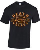 Mens Biker T shirt Retro motorcycle womens grunge retro DEATH VALLEY SPEEDWAY