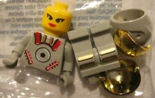NEW Lego Space Minifig 3928 Sandy Moondust Mars Rover Mission ASTROBOT Polybag