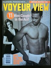 PLAYGIRL Voyeur View #48 2005 POOL GUY Horse Back Riding TATTOO PARLOR more