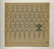 1960 Arne Jacobsen FRITZ HANSEN MØBLER rare Danish Modern Furniture Promo Booklt