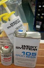 West System Epoxy Kit 105A Resin 206A Hardner 300 Pump Set 4lb WEST4U