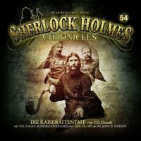 SHERLOCK HOLMES CHRONICLES - DIE KAISERATTENTATE FOLGE 54  2 CD NEW