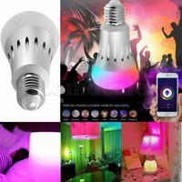 E27 WiFi APP Control Smart LED Bulb Lamp Amazon Alexa Echo Dot Farbwechsel Light