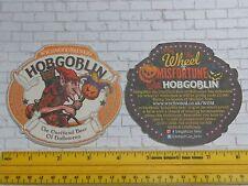 Beer Coaster WYCHWOOD Brewery Hobgoblin ~ Halloween Wheel of Misfortune Contest