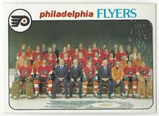 1978-79 OPC HOCKEY #203 FLYERS CHECKLIST - VG+/EX-