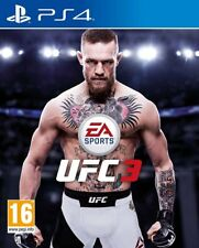 UFC 3 (PS4)  BRAND NEW AND SEALED - IN STOCK - QUICK DISPATCH - FREE UK POSTAGE