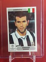Zinedine Zidane Juventus Champions League 2000/01 Panini Sticker