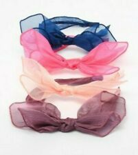ALICE BANDS HEADBAND SOFT FABRIC KNOTTED BOW FABRIC HAIR BAND WOMEN GIRL SCHOOL