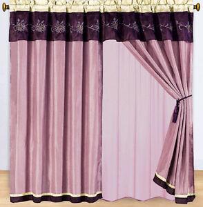 """Grand Park  5 Piece Curtain Panels Set 84 """" Wide x 84 """" Long"""