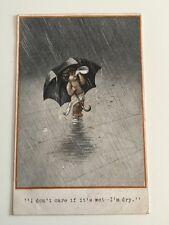Early Vintage Postcard - Inter-Art Co - Quaint Kid Series No 235 C1912