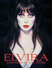 Elvira Mistress of the Dark Hardcover Book Cassandra Peterson Tweeterhead New