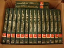Enciclopedia Universale Curcio completa 16 vol.  come nuova Vedi foto e note SPL